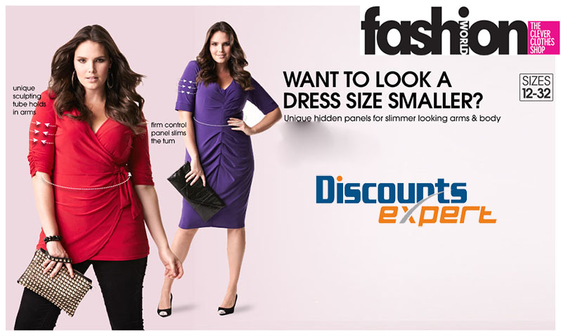 fashion world discounts expert