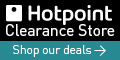 Hotpoint Clearance voucher